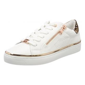 TOM TAILOR Damen 4892603 Sneaker, Weiß (White), 40 EU