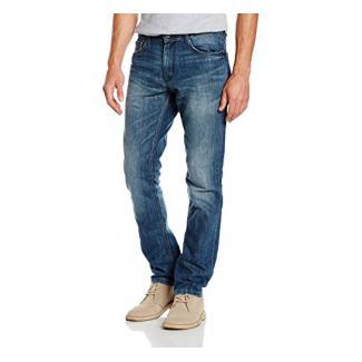 TOM TAILOR Herren Jeanshose Jeans 1/1 Josh Regular Slim Blau (Mid Stone Wash Denim 1052), W29/L30 (Herstellergröße: 29)