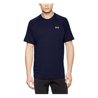 Under Armour Herren UA Tech Ss Fitness T-Shirt, Midnight Navy, L