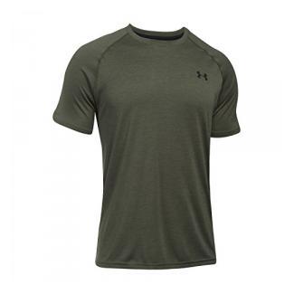 Under Armour Ua Tech Ss Tee Herren Fitness - T-Shirts & Tanks, Grün (Downtown Green), XS