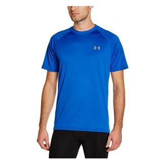 Under Armour Ua Tech Ss Tee Herren Fitness - T-Shirts & Tanks, Blau (Blue Jet Tan Stone), XL